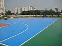 供应丙烯酸球场施工工艺标准球场地坪尺度