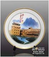 供应旅游陶瓷纪念礼品瓷盘